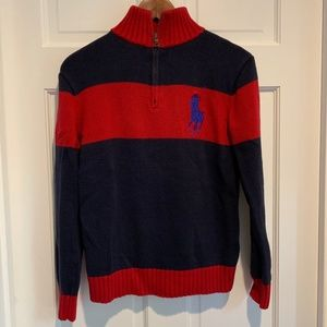 Polo Ralph Lauren Rib Knit 1/4 Zip Pullover
